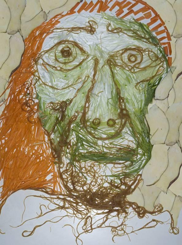 Picasso(elaborado com vegetais)