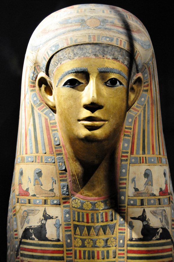 Egyptian Mummy Mask (Egypt early Roman period)