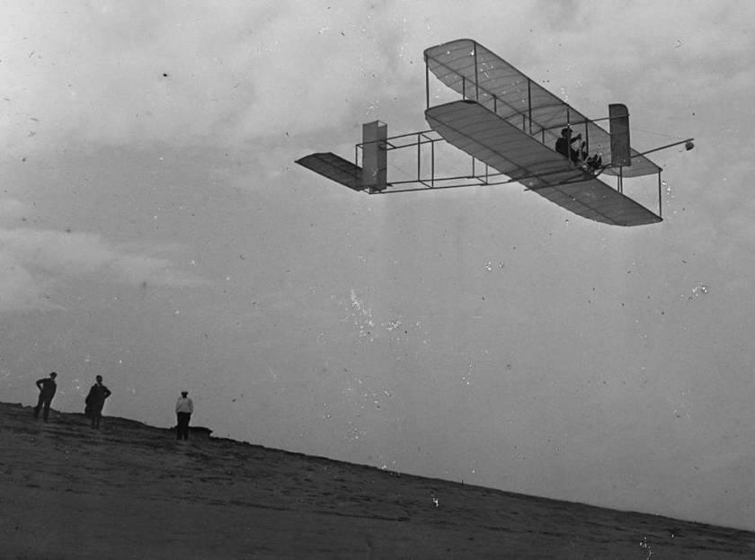 1o. voo na história