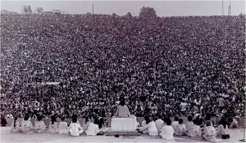 abertura de festival de woodstock em 1969