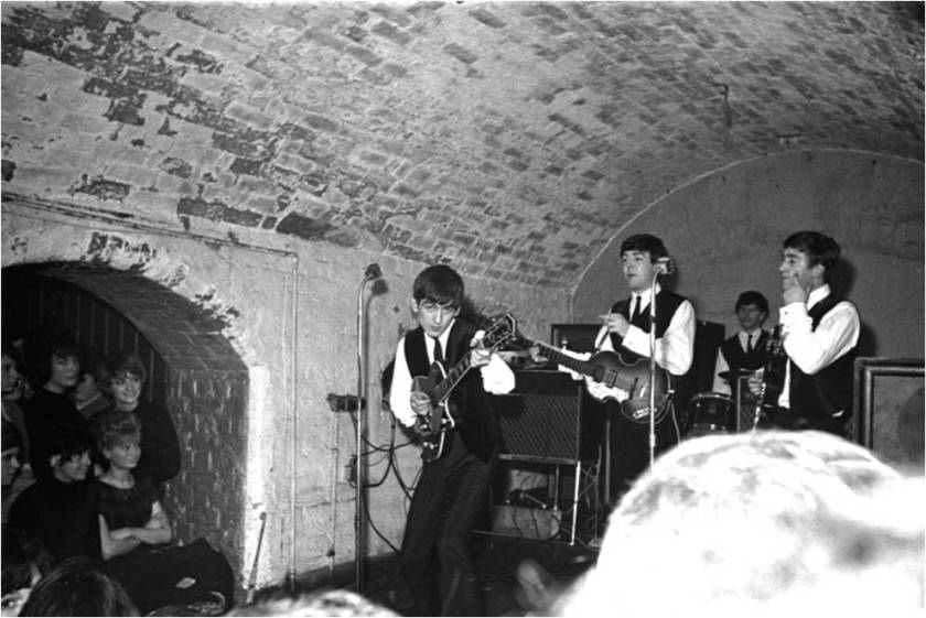 beatles  te cavern club em 1962