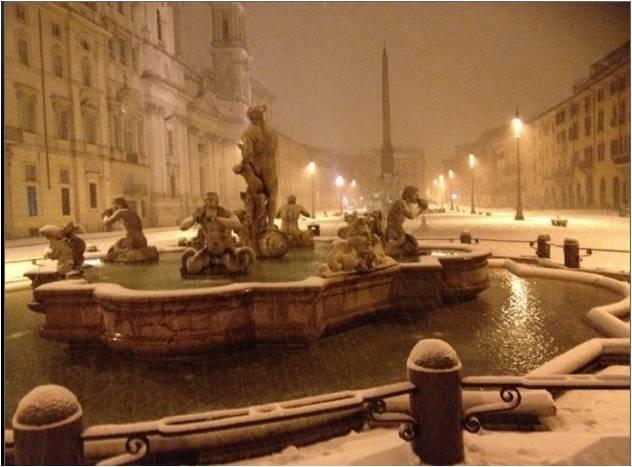 noite piazza navona