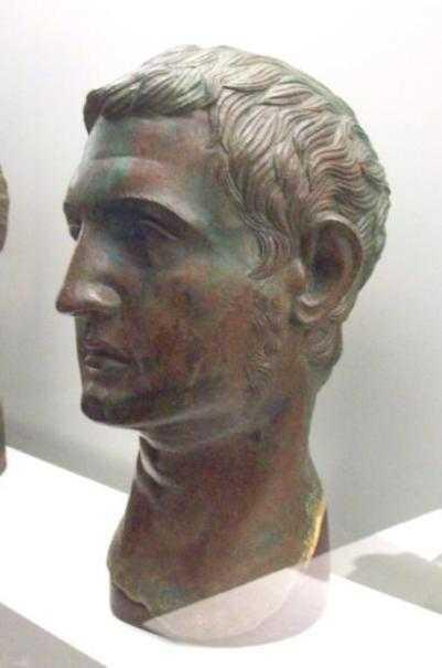 cabeça masculina