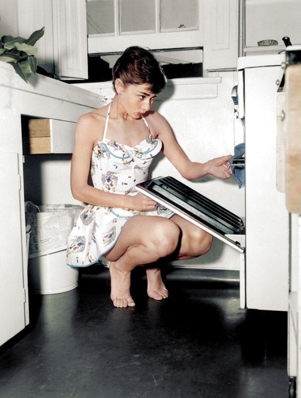 14-Audrey Hepburn 1950