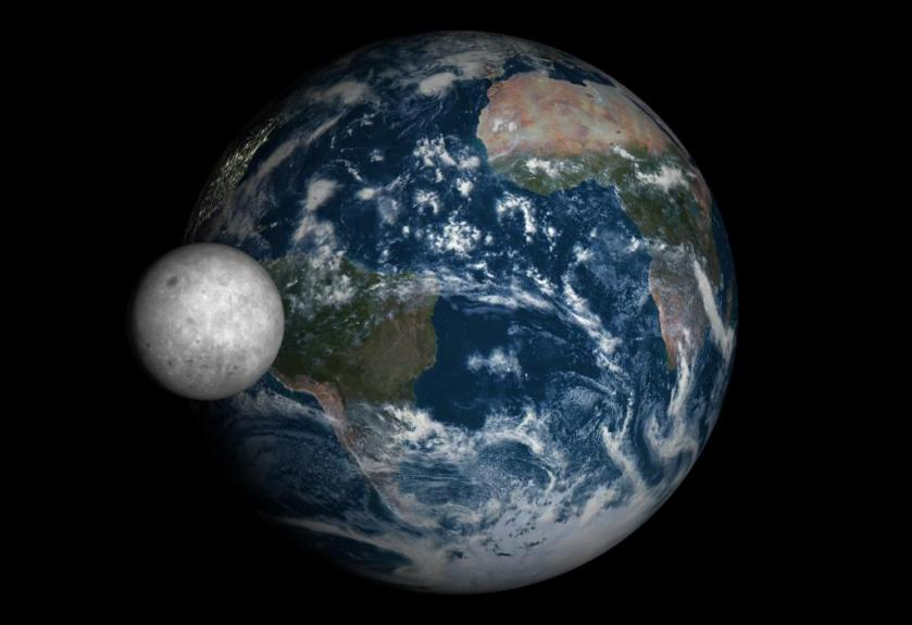 terra e lua nova