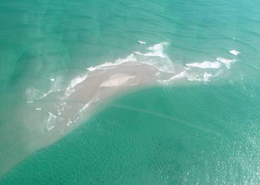 banco de areia - tróia